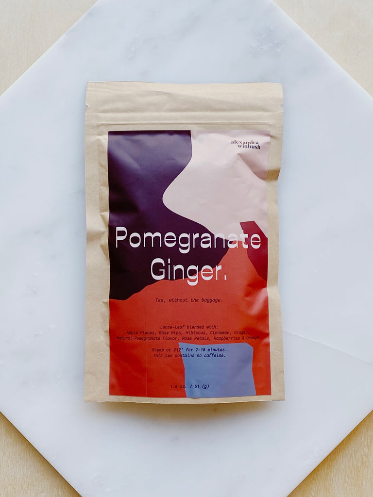 Pomegranate Ginger Tea