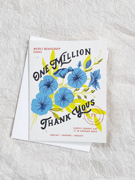 One Million - Thank You