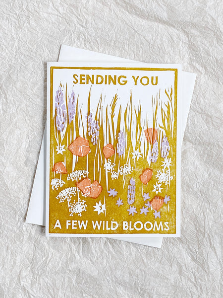 Sending You Wild Blooms - Friendship