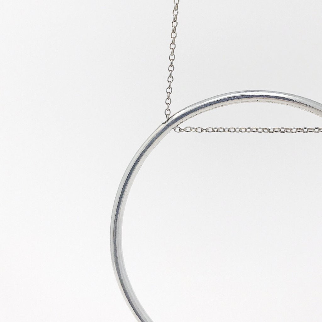 Supermoon Necklace Sterling Silver