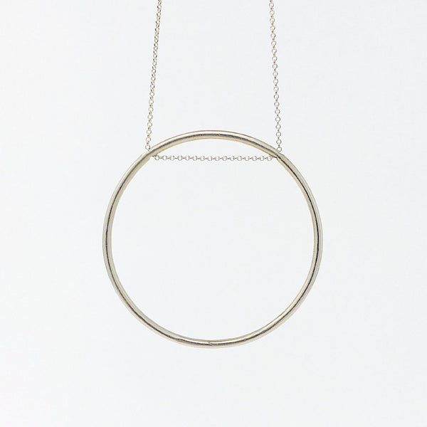 Supermoon Necklace Brass