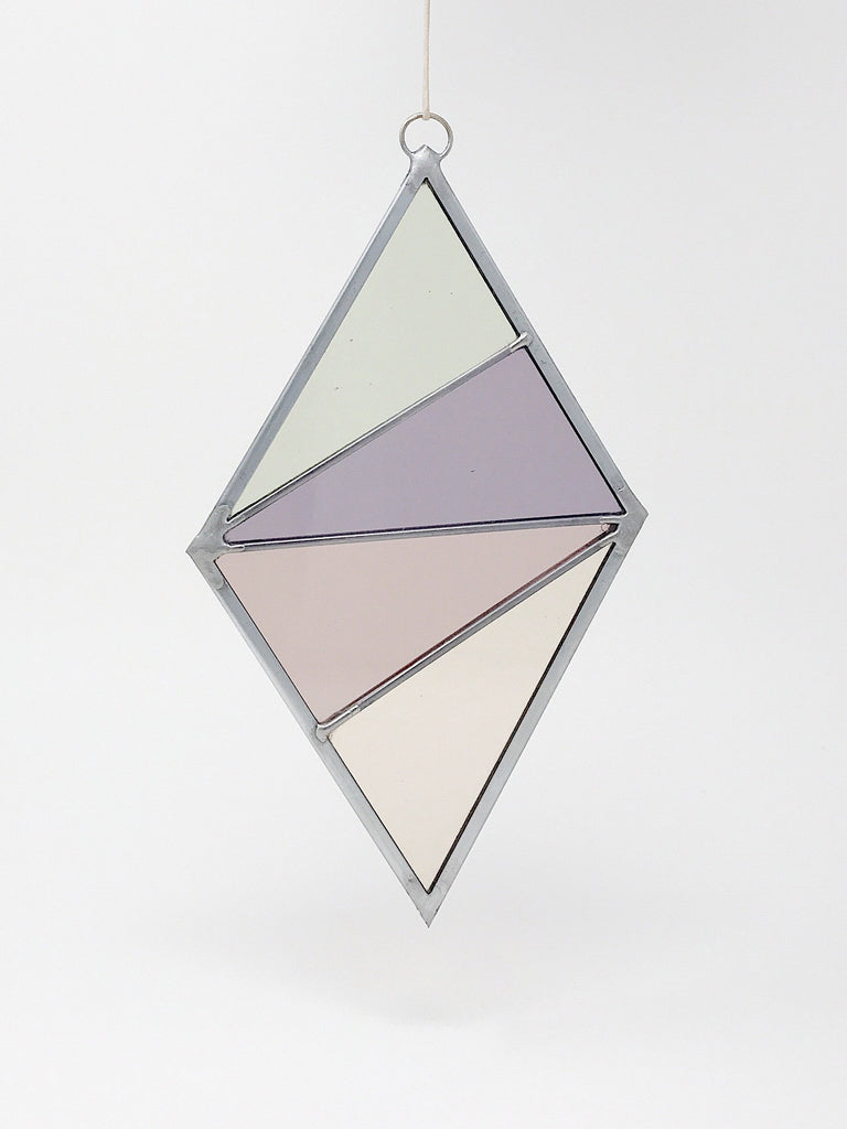 Stained Glass Diamond