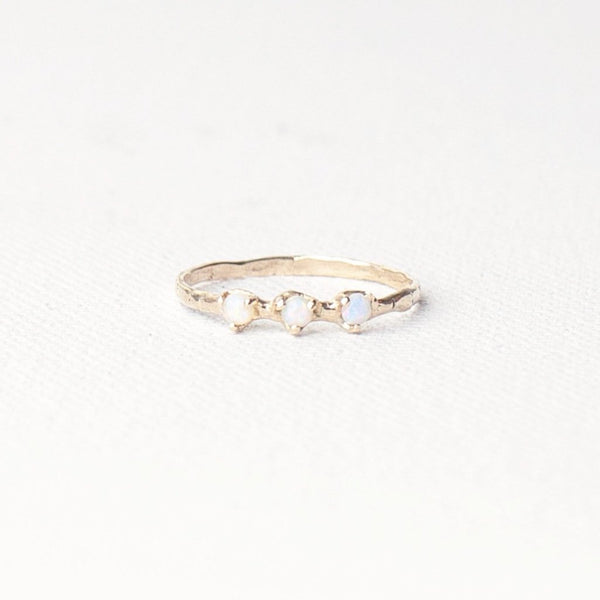 Valley Rose Studio Orion's Belt Ring Young Blood Boutique 14k Gold