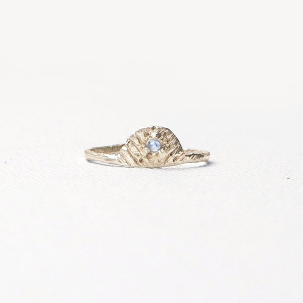 Valley Rose Studio Nopal Shield Ring Young Blood Boutique 14k Gold