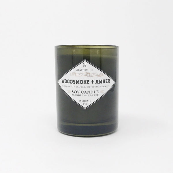 Woodsmoke and Amber Soy Candle