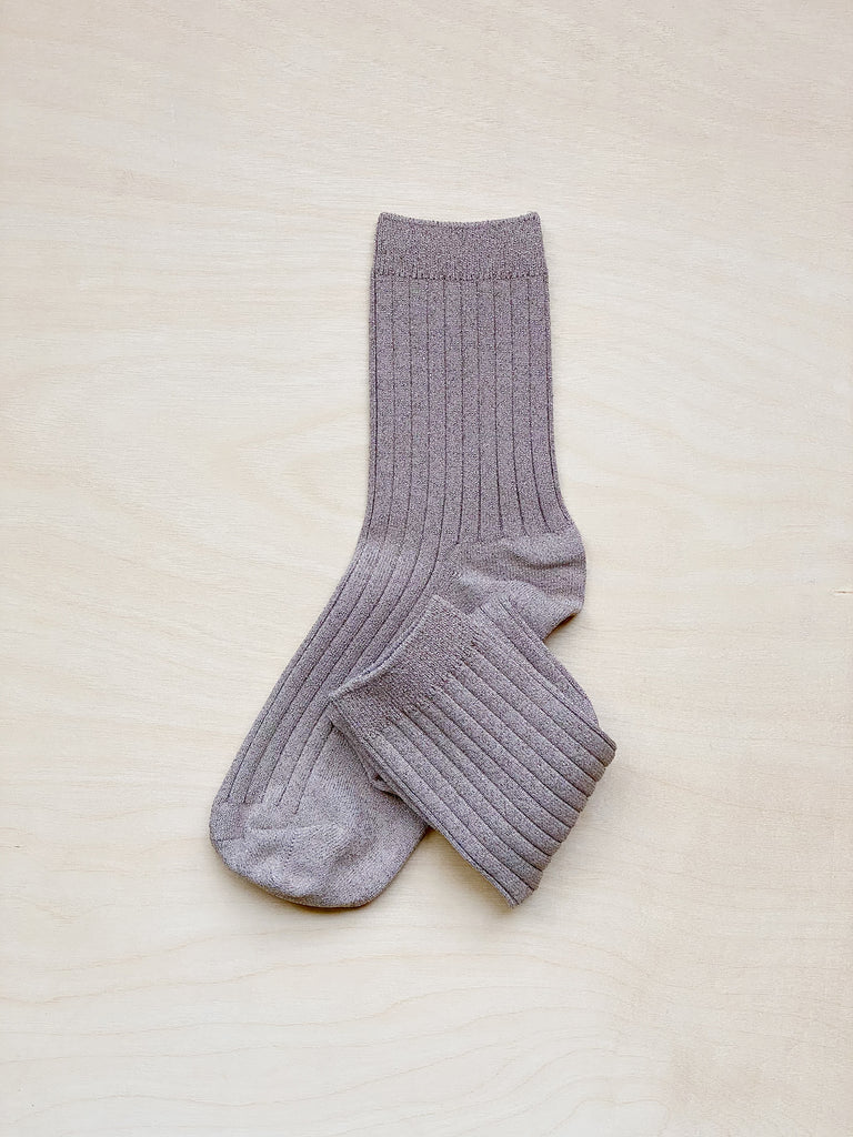 young blood boutique le bon shoppe socks jute glitter