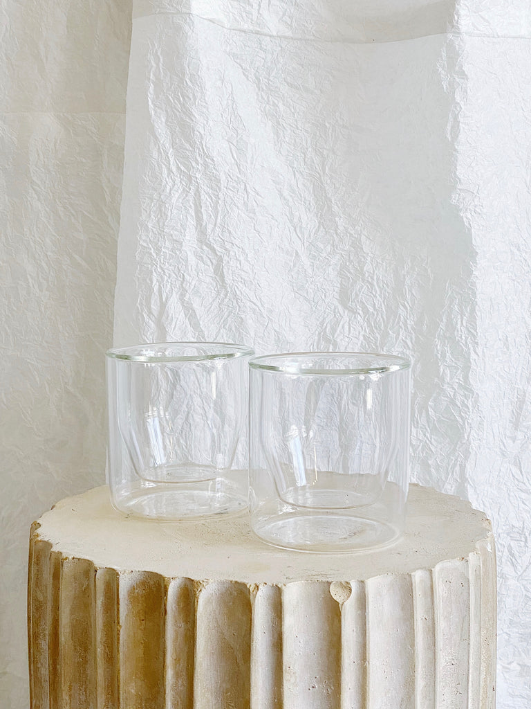Double Wall Glass Set