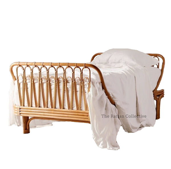 Halcyon rattan bed byron bay hanging chair rattan collective