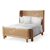 queen king rattan bed byron bay hemsworth the rattan collective