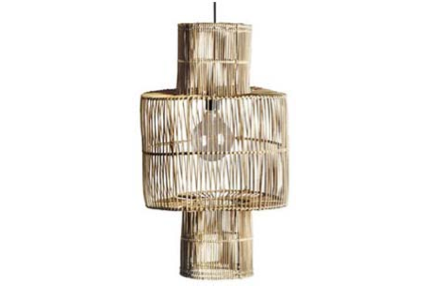rattan pendant light lightshade sustainable rattan pendant light byron bay the rattan collective