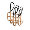 hanging rack rattan byron bay hanging chair towels coats outdoor shower