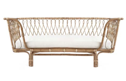 Rattan daybed St elmo Byron bay rattan furniture beds nursery cane wicker hanging chairs the rattan collective the family love tree