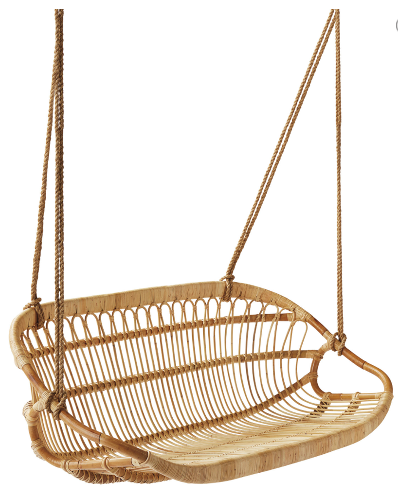 Charmant The Rattan Collective Swing Chair Byron Bay New Brighton Hanging Chair
