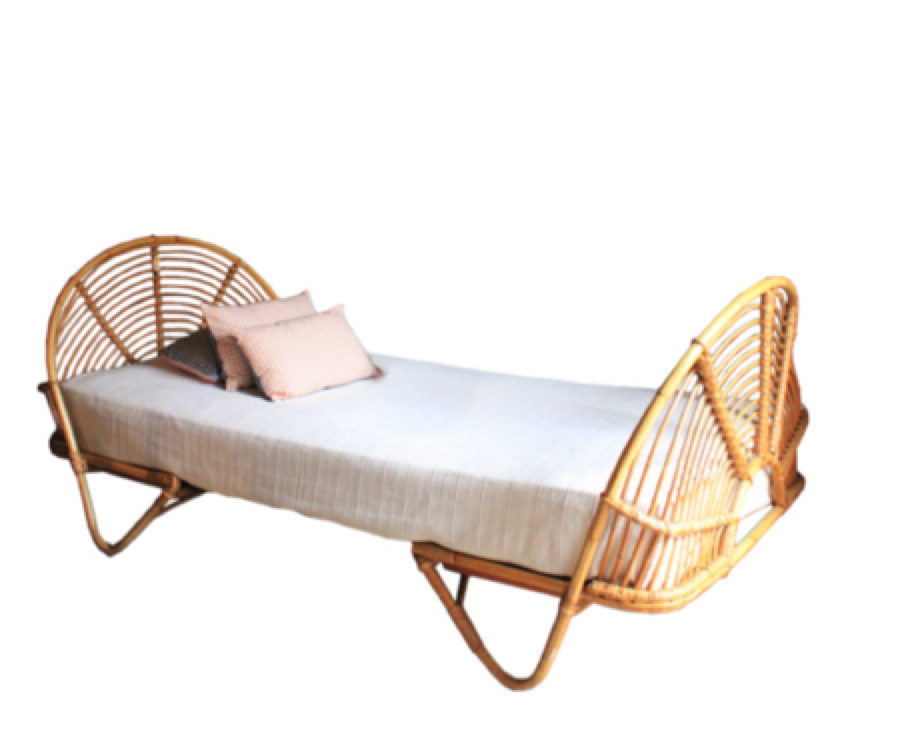 bayleaf cane wicker rattan bed kids bed bedroom single bed queen bed king bed daybed  the rattan collective byron bay hanging chairs the family love tree  bayleaf cafe