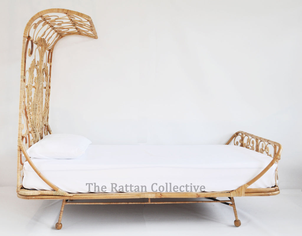 Spell Stunning Unique Rattan Bed For Modern Bohemians Or Princesses Looking For Something The Rattan Collective