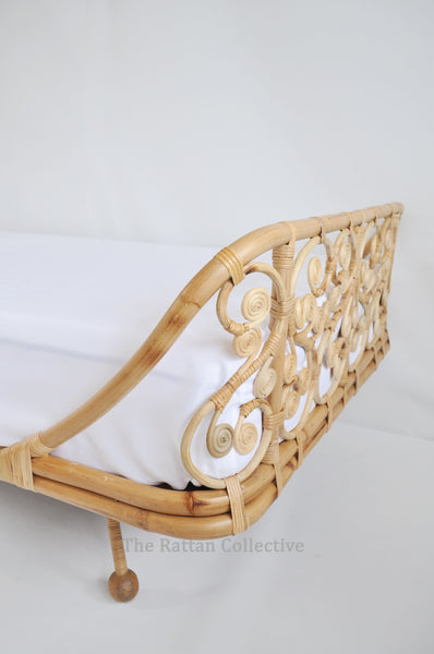 Spell - stunning unique rattan bed for modern bohemians or princesses  looking for something