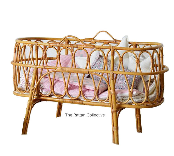 targa cane wicker rattan baby bassinet hanging chair byron bay folk the family love tree down to the woods the rattan collective daybed