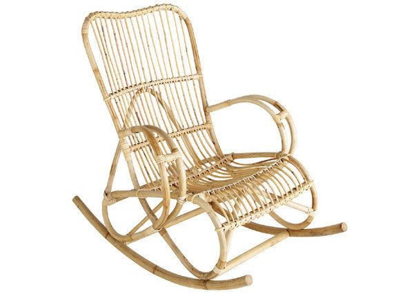 modern rattan rocking chair cane rocking chair nursery chair nursery furniture the rattan collective byron bay
