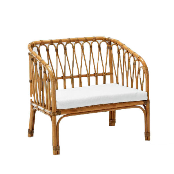 kids rattan bench seat chair reading chair playroom furniture byron bay kids rocker rocking horse
