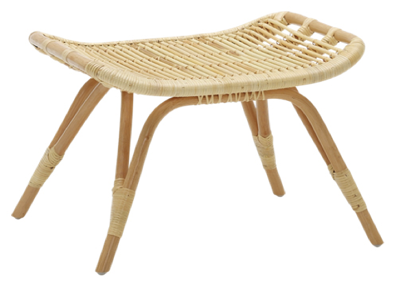 rattan footstool the family love tree the rattan collective ottoman