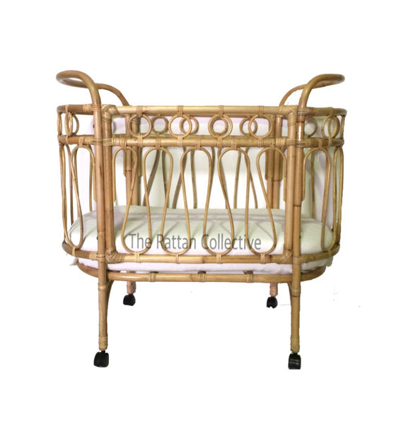 rattan bassinet with wheels baby bassinet baby nursery the rattan collective byron bay baby crib