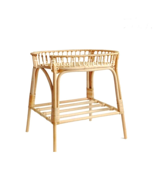 rattan cane  baby change table newborn byron bay bassinet crib cot nappies baby clothes pregnancy nursery furniture handmade simple