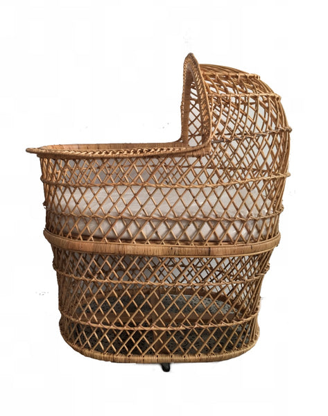 bohemian rattan cane wicker bassinet the rattan collective byron bay hanging chairs the family love tree down to the woods
