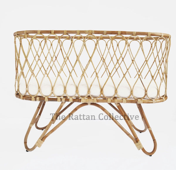 sale cheap baby rattan bassinet cane bassinet wicker crib nursery decor furniture byron bay bondi baby rocker the rattan collective