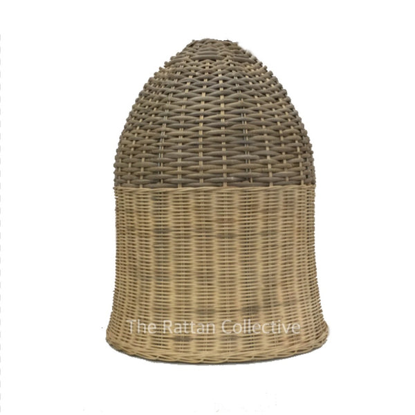 rattan lampshade lightshade lighting the rattan collective byron bay natural light shade handmade light shade