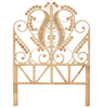 rattan bedhead single queen peacock bed head family love tree splendour rattan collective