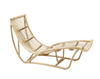 Pool lounger antique wash rattan lounger byron bay