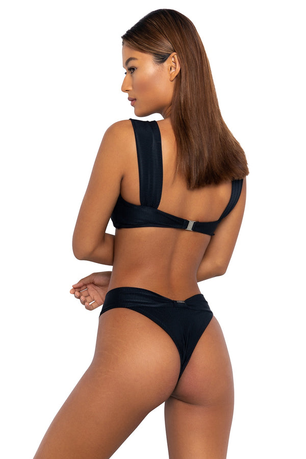 Gizele Bottoms Nero Cord