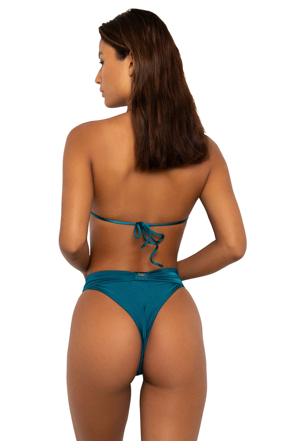 Gizele Bottoms Teal