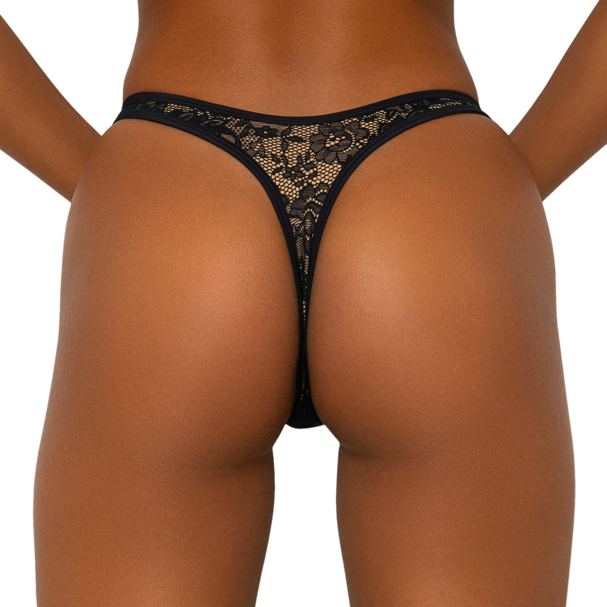 Goi Bottoms Black Lace