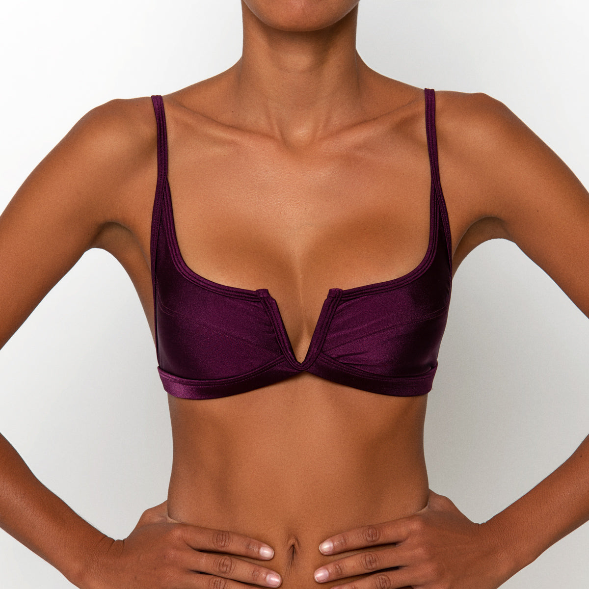 Gypsy Top Plum