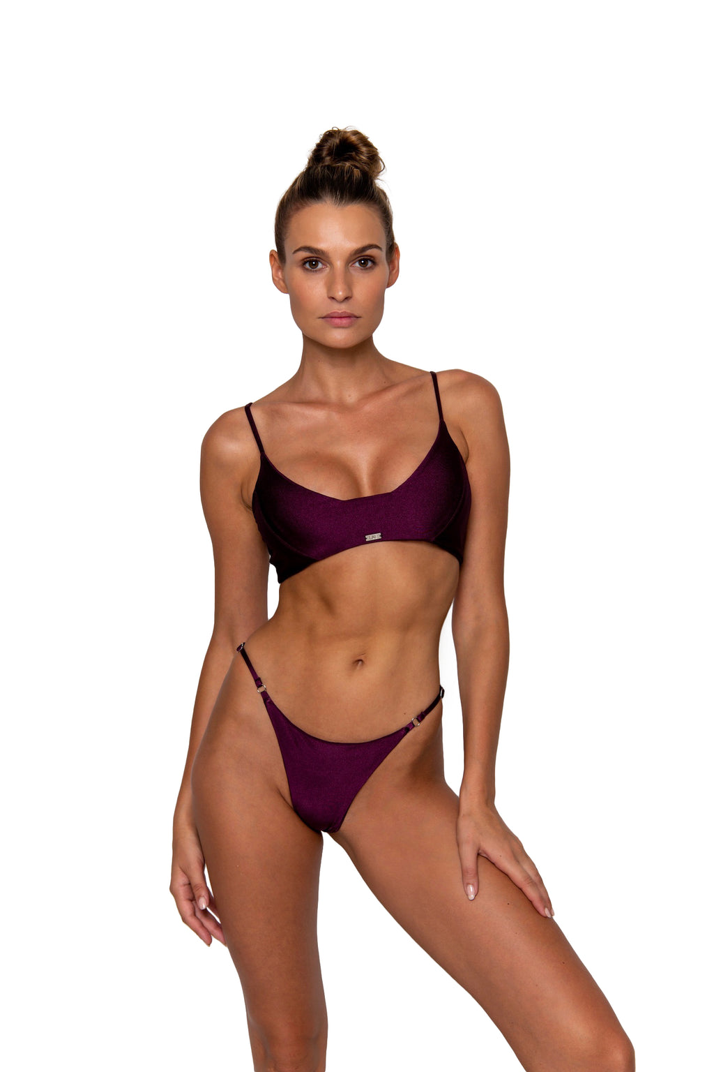 Amee Top Plum