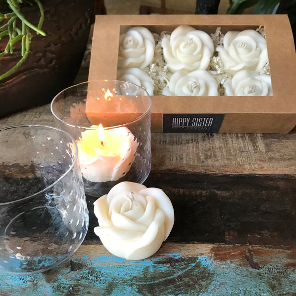 Flower & Medallion Candles