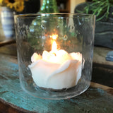 Rosette Votive Candle Set