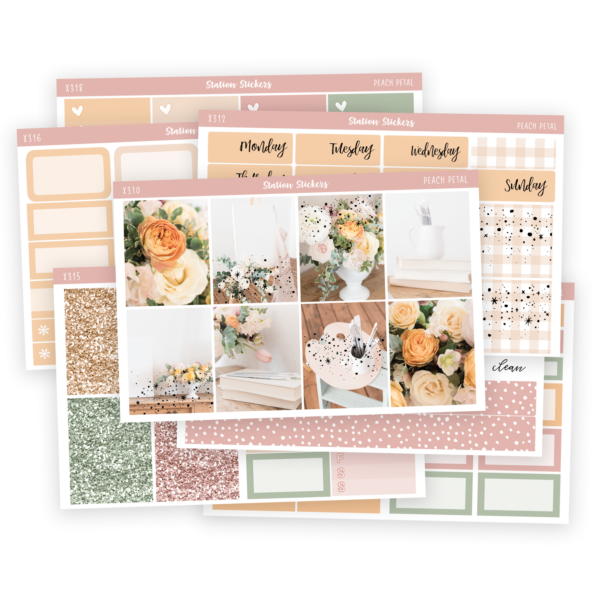 PEACH PETAL DELUXE COLLECTION