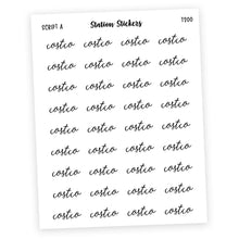 Load image into Gallery viewer, COSTCO • SCRIPTS - Station Stickers