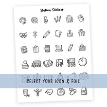 Load image into Gallery viewer, GROUP 1 • ICONS - Station Stickers