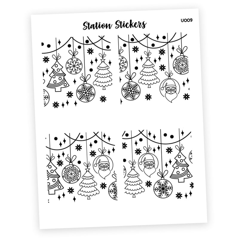 OVERLAY FULL BOX • HOLIDAY 3 - Station Stickers