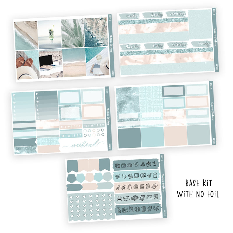 PRINTABLE WEEKLY STICKER KIT • BREATHE