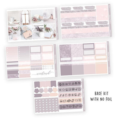 PRINTABLE WEEKLY STICKER KIT • MORNING SERENITY - Station Stickers