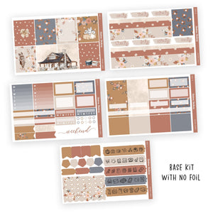 WEEKLY STICKER KIT • AUTUMN FLORALS - Station Stickers