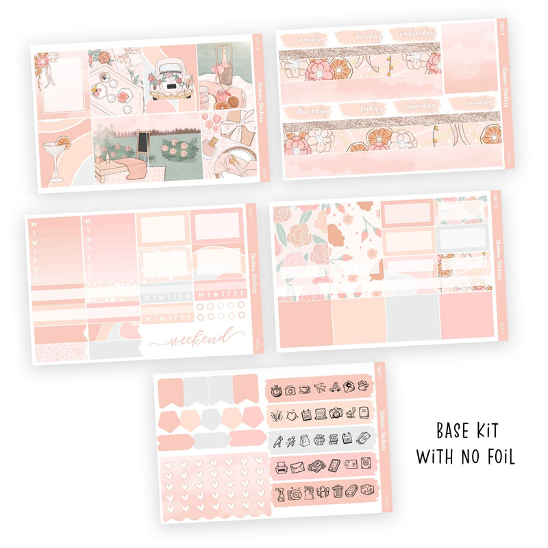 WEEKLY STICKER KIT • BAYLIE - Station Stickers