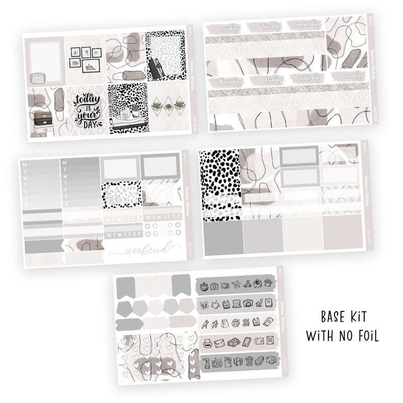 WEEKLY STICKER KIT • CHIC OFFICE - Station Stickers