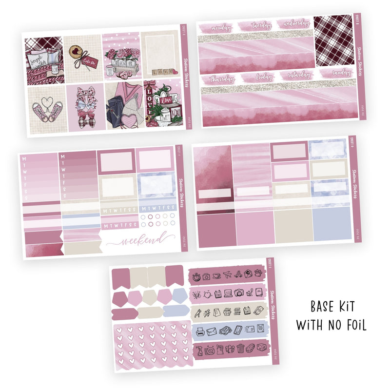 WEEKLY STICKER KIT • CUTIE PIE