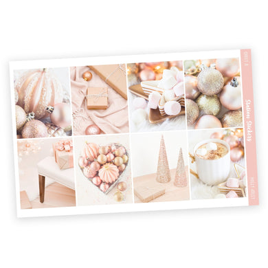 WEEKLY STICKER KIT • HOLLY JOLLY - Station Stickers