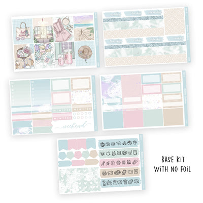 WEEKLY STICKER KIT • LEYAH - Station Stickers